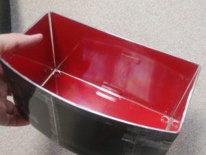 赤の色揚げ水槽