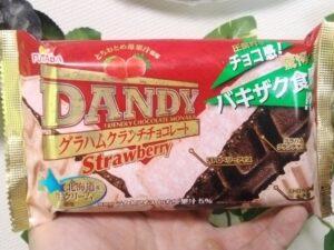 ダンディーモナカのストロベリー味
