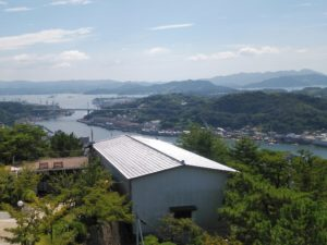 千光寺公園の展望台からの風景 ②