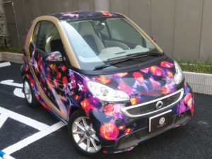 アートアクアリウムの車