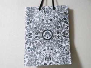 アートアクアリウム美術館の紙袋