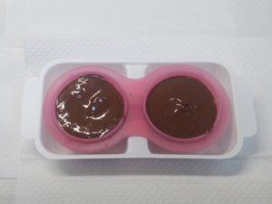 型に入れたチョコレート