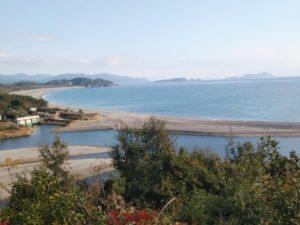 海部城からの景色 ①