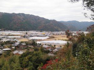 安芸城からの景色 ①