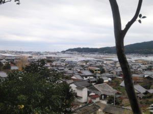 安芸城からの景色 ②