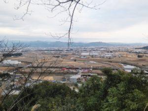 岡豊城からの景色