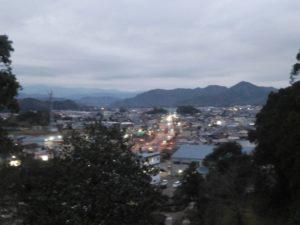 蓮池城からの景色