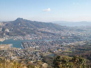 屋嶋城からの景色 ①