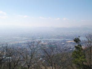 屋嶋城からの景色 ②