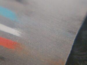 紙やすりによるプラバン修正実験 ④