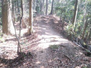 津久井城の山登り