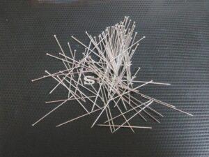 コクワガタの標本に使用した虫ピン