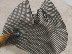 メダカの玉網作り㉑