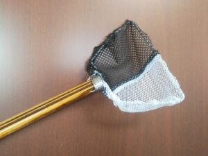 メダカの玉網作り㉓