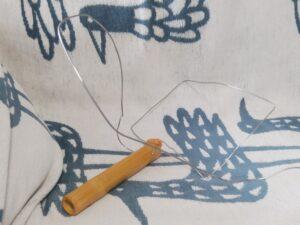 メダカの玉網作り⑪