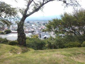 春日城からの街の景色