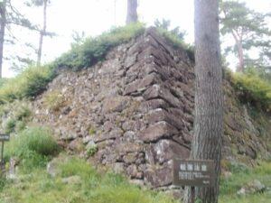 松倉城の石垣