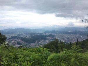松倉城からの眺望