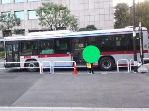 ワクチン接種会場用シャトルバス(東急バス)