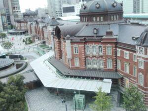 「KITTE 丸の内」建物から見た東京駅 ②