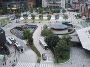 「KITTE 丸の内」建物から見た東京駅 ①